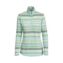Women's Woolrich Mile Run Half Zip Knit Winter Blue