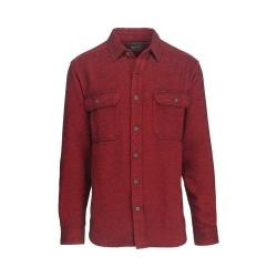 Men's Woolrich Oxbow Bend Flannel Shirt Old Red Alaskan