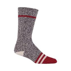 Woolrich Tipped Toe Camp Sock (2 Pairs) Charcoal/Marl