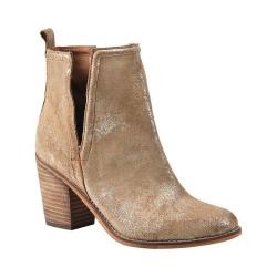 Women's Diba True Later On Bootie Gold Suede/Leather