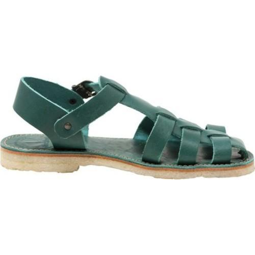 ac3d24658 Shop Duckfeet Ringkobing Fisherman Sandal Turquoise/Green Leather - On Sale  - Free Shipping Today - Overstock - 18742388