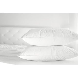 BellaResto Hypoallergenic 100% Cotton Pillows with Pillowcase Set of 2 (2 options available)