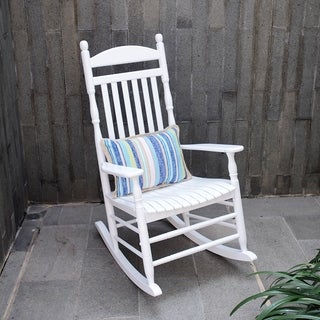 Cambridge Casual Alston Traditional Rocking Chair - White