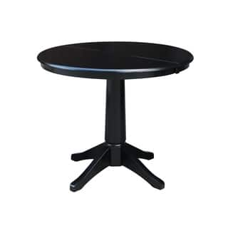 Buy Oval Kitchen Dining Room Tables Online At Overstockcom Our - Black oval pedestal dining table