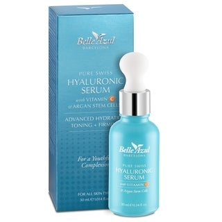 Belle Azul Pure Swiss Hyaluronic Acid Skin Serum + Vitamin C & Argan Stem Cells 30 ml/1.014 fl oz (3 options available)