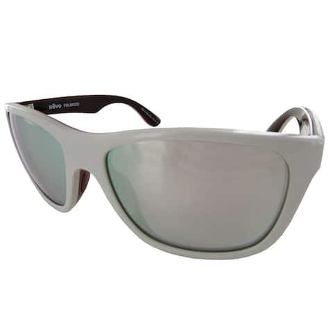 Revo 1001 Mens Otis Polarized Square Sunglasses, Grey/Stealth