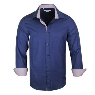 jacquard Pattern Modern-Fit Dress Shirt (More options available)
