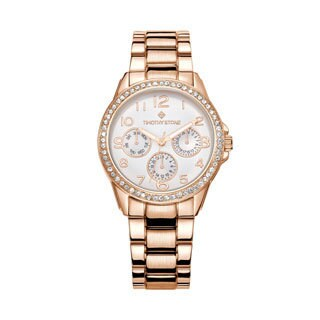 Women's 'Katy' Crystal Embellished Quartz Classic Bracelet Watch 36mm by Timothy Stone