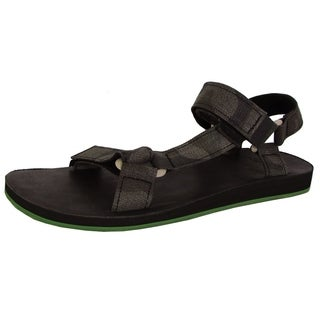Teva Mens Original Universal Brushed Canvas Camo Sandal Shoes, Black (3 options available)