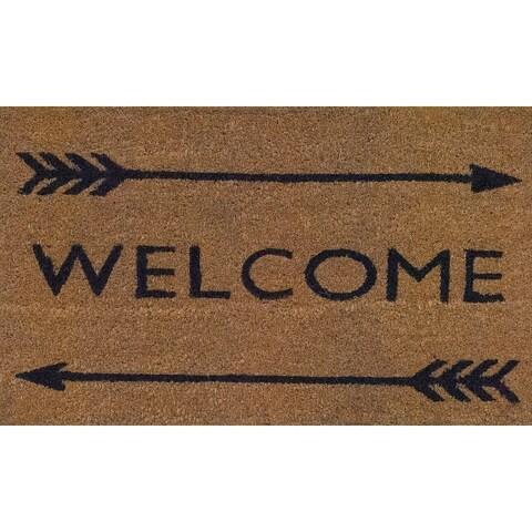 Vale Arrow Welcome Doormat