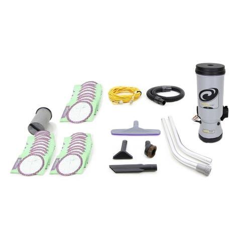 Loaded Proteam MegaVac 10 QT Backpack Vacuum Cleaner