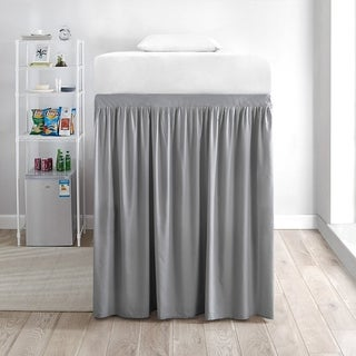 Extended Twin XL 60-inch Drop 3 Panel Bed Skirt