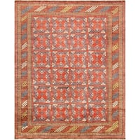 "Pasargad Nomad Collection Hand-Knotted Wool Rug (7' 9"" X 9' 9"")"