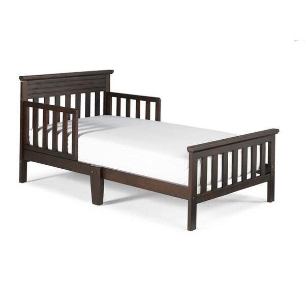 Shop Fisher Price Newbury Toddler Bed, Espresso