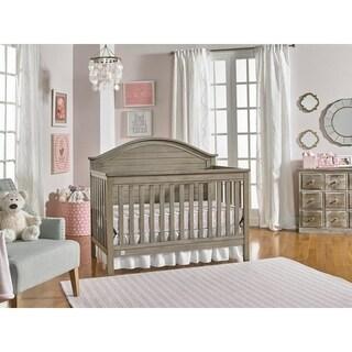 Shop Evolur Santa Fe Storm Grey 5 In 1 Convertible Crib
