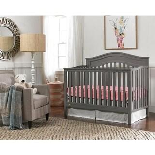 Aubree Convertible Crib, Stormy Grey
