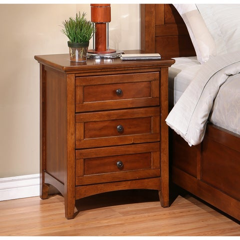 Abbyson Woodworth Nightstand