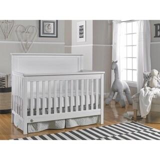 Fisher-Price Quinn Convertible Crib, Weathered White