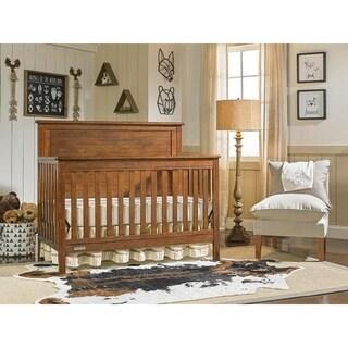 Shop Fisher Price Quinn Convertible Crib Rustic Brown