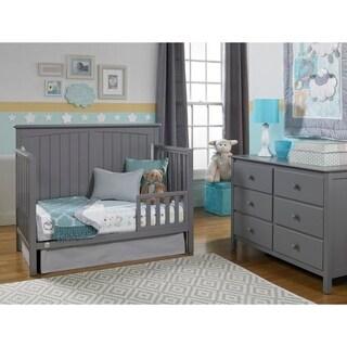 Colton Convertible Crib, Stormy Grey