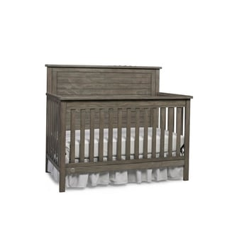 Fisher Price Quinn 4-in-1 Convertible Crib, Vintage Grey