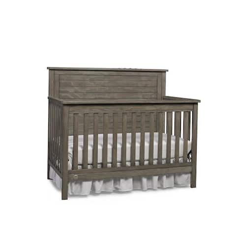 Fisher-Price Quinn Convertible Crib, Vintage Grey