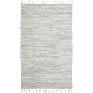Grey Complex Chenille Flat Weave (10'x14') Rug - 10' x 14'