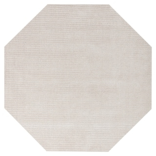 Off-White Pulse (8'x8') Octagon Rug - 8' x 8'