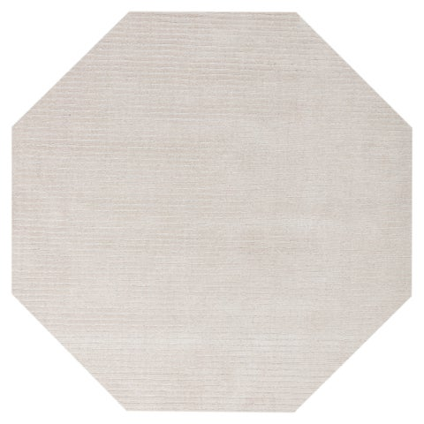 Off-White Pulse (6'x6') Octagon Rug