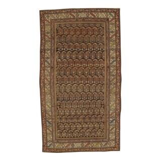 Pasargad NY Antique Persian Hamadan Handmade Wool Rug - 5' x 8'9