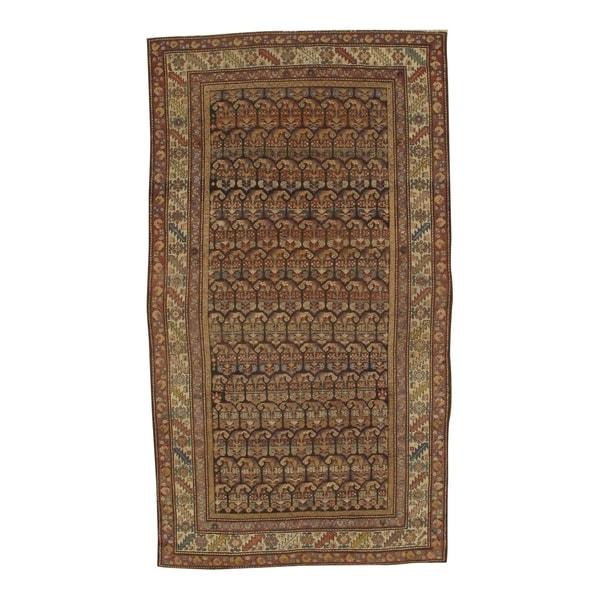 Pasargad NY Antique Persian Hamadan Handmade Wool Rug