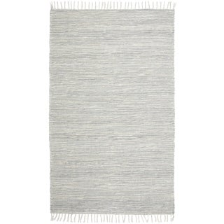 Grey Complex Chenille Flat Weave (8'x10') Rug - 8' x 10'