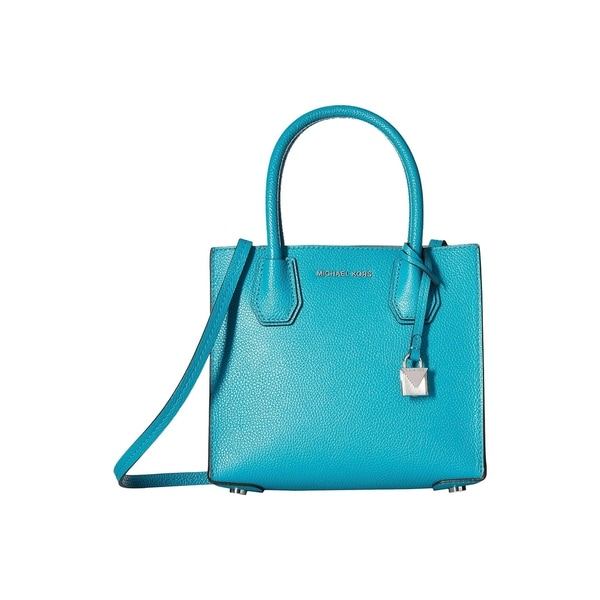 23ca941d73e3a1 Shop MICHAEL Michael Kors Mercer Medium Leather Messenger Bag Tile ...