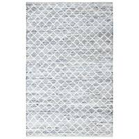 Blue Jeans and Cotton Flat Weave Area Rug - 10' x 14'
