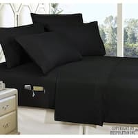 Elegant Comfort Luxury Smart Sheet Set! Wrinkle and Fade Resistant with Side Storage Pockets