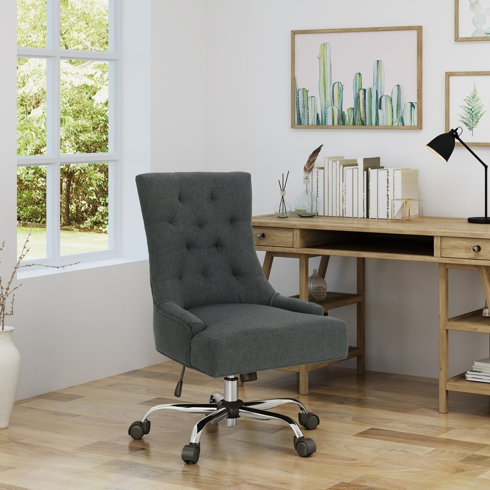 Shop Americo Home Office Desk Chair By Christopher Knight Home Overstock 21802128