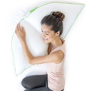 Sleep Yoga Side Sleeper Pillow, White