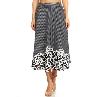 Women's Embroidered Pattern Skirt