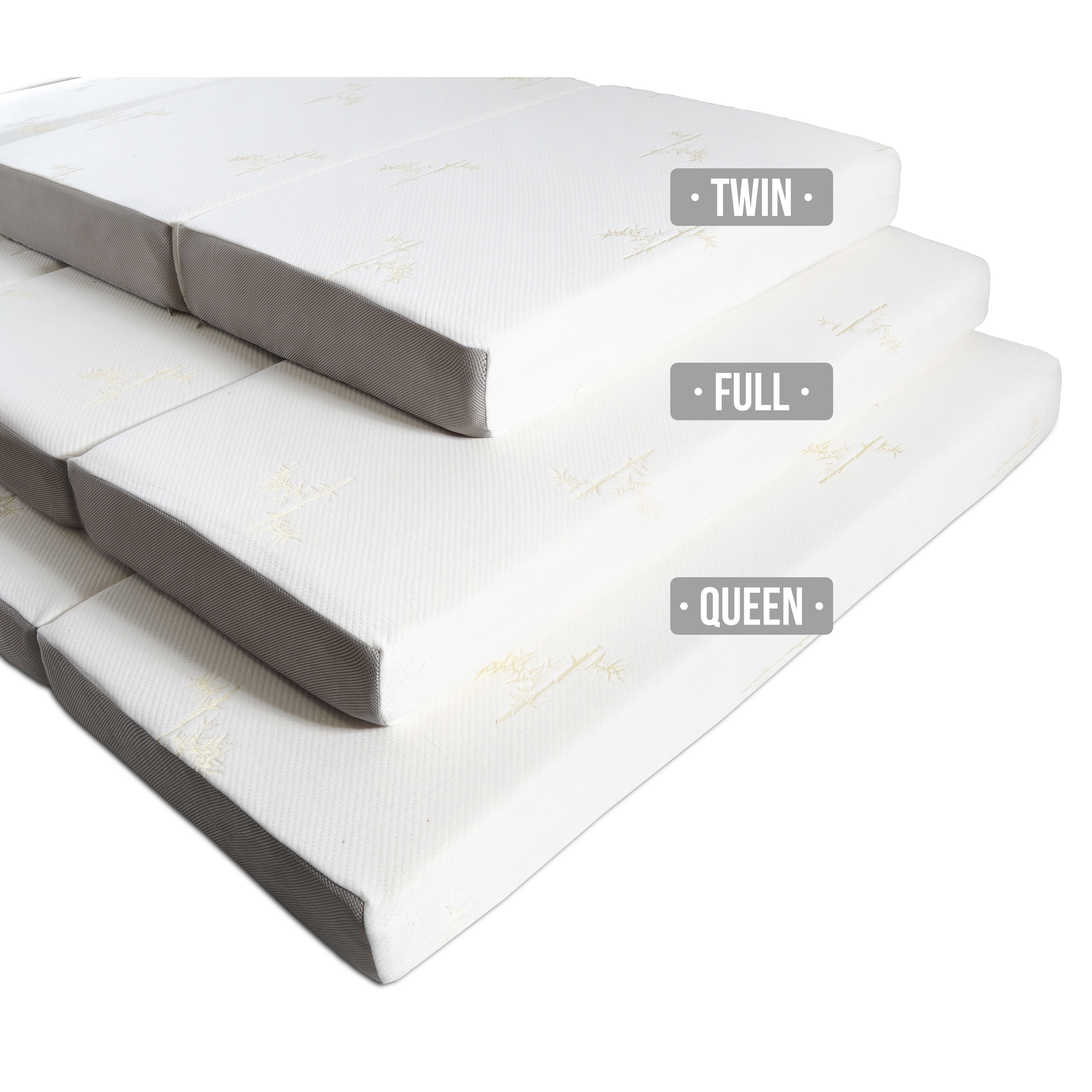 Milliard 6 Inch Memory Foam Tri Fold
