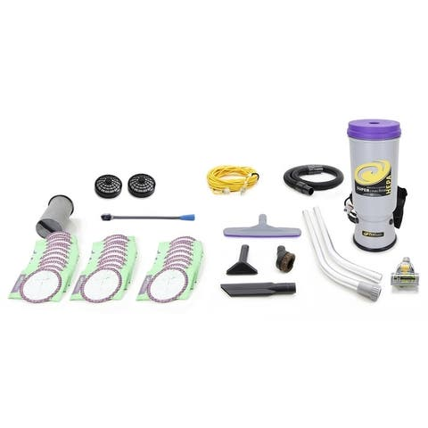 Proteam Super CoachVac 10 QT Commercial Backpack Vacuum Cleaner