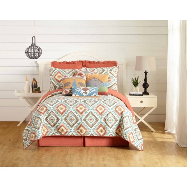 Yuma Quilt by Laurel and Mayfair (shams sold separately)