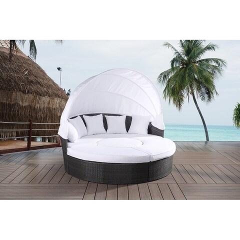 All-weather Resin Wicker XL Sunbed Set - SOGNO XL
