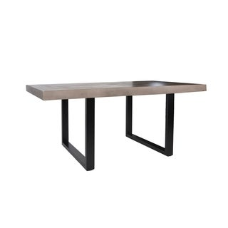 Outside Inside Lofoten Grey Aluminum/Concrete Indoor/Outdoor Dining Table