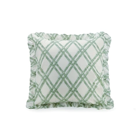 Blooming Magnolia Euro Sham by Laurel and Mayfair