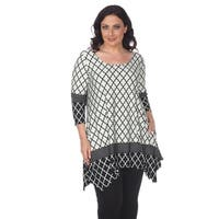 White Mark Plus Size 'Aicha' Tunic
