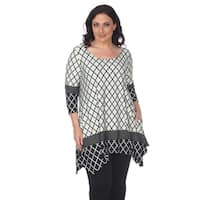96dd7680789 Shop White Mark Women's Plus Size 'Maji' Tunic - Free Shipping On ...