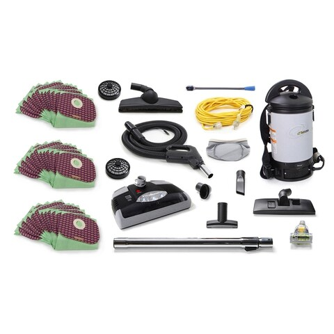 Powerful ProTeam Sierra 6 QT Backpack Vacuum Electric Power Head nozzle