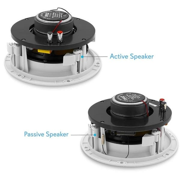 Shop Pyle Pdicwifib62 Home In Wall In Ceiling Speakers With