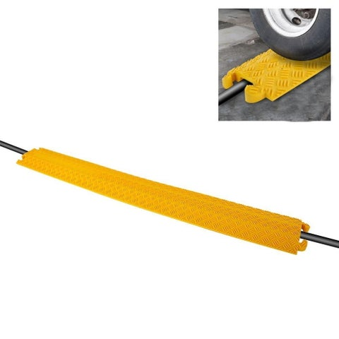 Pyle PCBLCO101 Cable Protector Cover Ramp - Cord/Wire Safety Concealment Track