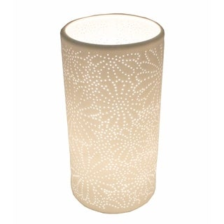 Attractively Designed Porcelain Table Lamp ,White